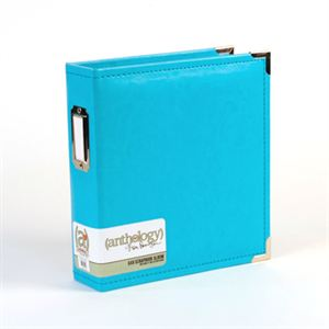 Picture of *50% OFF* Anthology 6 x 8 Album - Aqua *SALE* WHILE SUPPLIES LAST